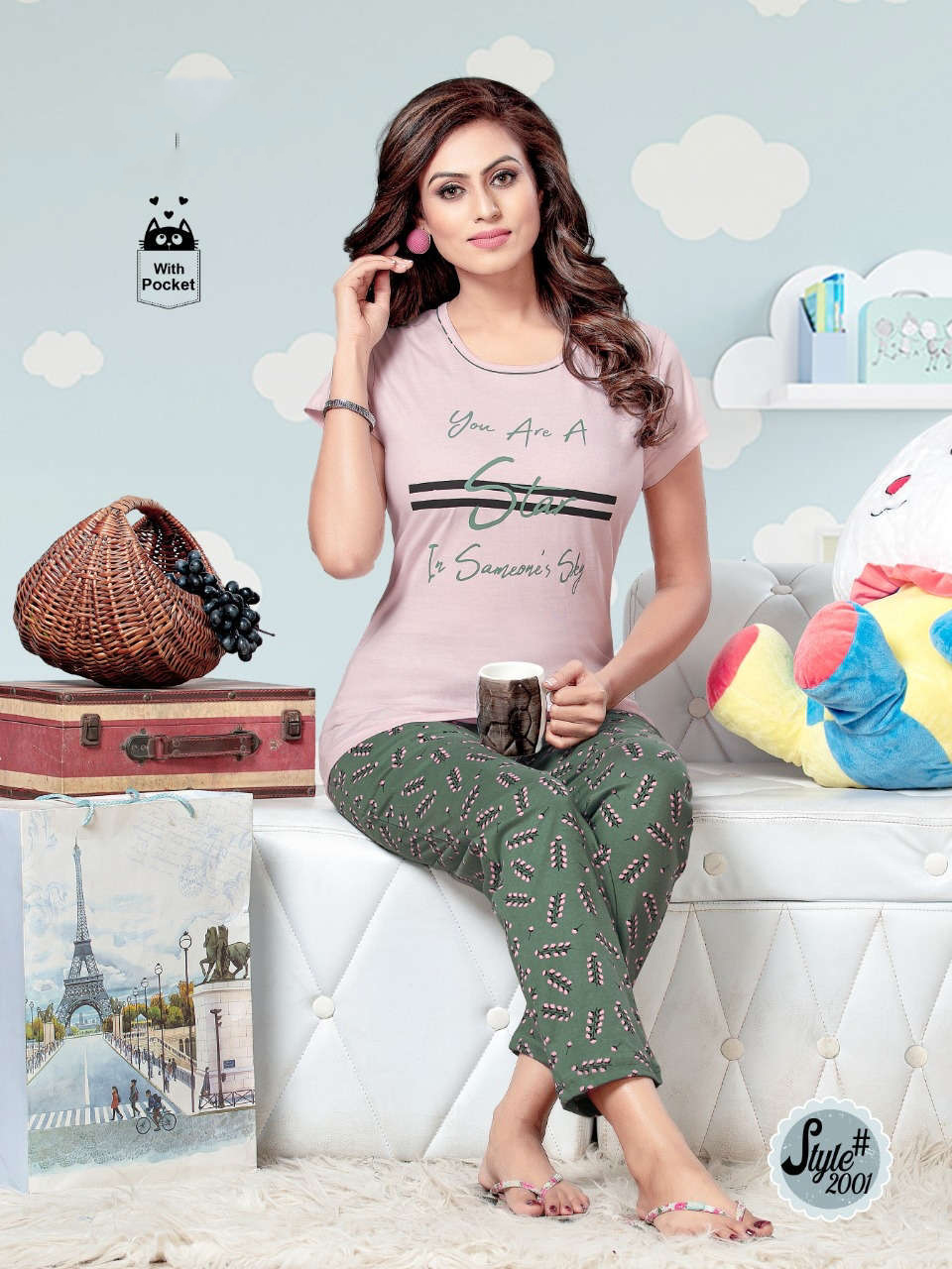 SF Premium Night Wear Vol 63 Wholesale Catalog 6 Pcs 5 1 - SF Premium Night Wear Vol 63 Wholesale Catalog 6 Pcs