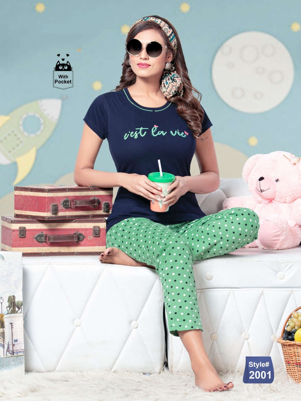 SF Premium Night Wear Vol 64 Wholesale Catalog 6 Pcs 2 - SF Premium Night Wear Vol 64 Wholesale Catalog 6 Pcs