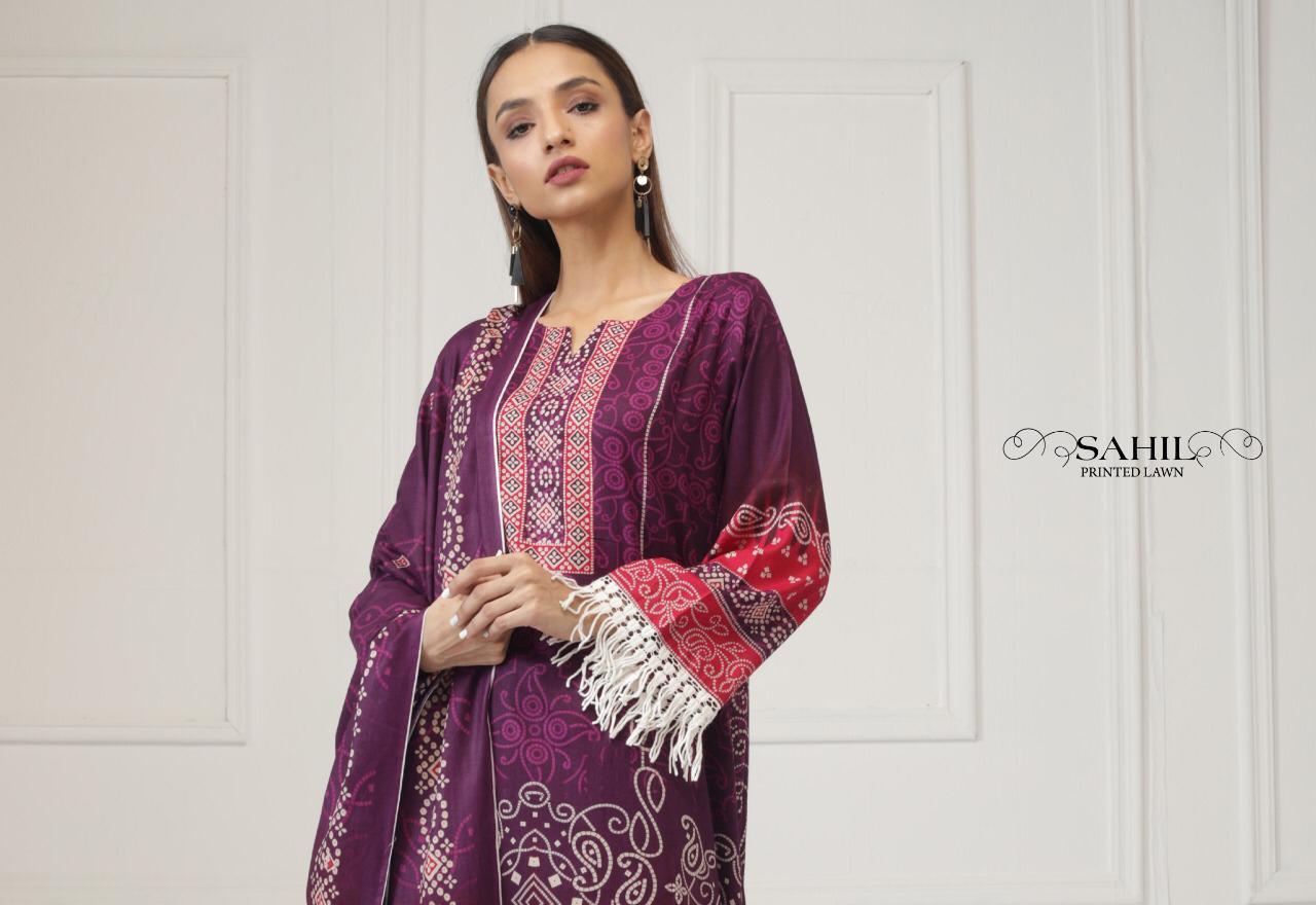 Sahil Printed Lawn Salwar Suit Wholesale Catalog 8 Pcs 11 - Sahil Printed Lawn Salwar Suit Wholesale Catalog 8 Pcs