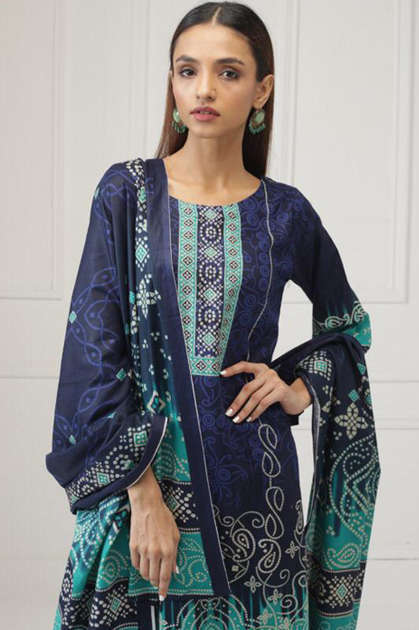 Sahil Printed Lawn Salwar Suit Wholesale Catalog 8 Pcs
