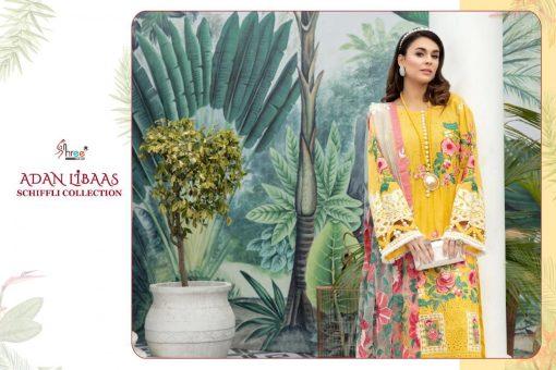 Shree Fabs Adan Libaas Schiffli Collection Salwar Suit Wholesale Catalog 5 Pcs 1 510x340 - Shree Fabs Adan Libaas Schiffli Collection Salwar Suit Wholesale Catalog 5 Pcs