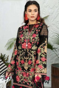 Shree Fabs Adan Libaas Schiffli Collection Salwar Suit Wholesale Catalog 5 Pcs