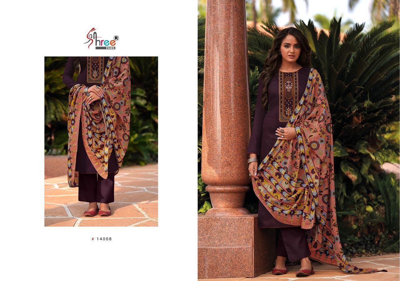 Shree Fabs Chevron Salwar Suit Wholesale Catalog 8 Pcs 12 - Shree Fabs Chevron Salwar Suit Wholesale Catalog 8 Pcs