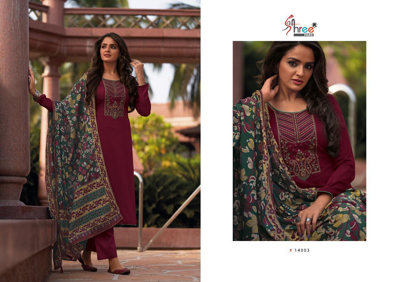 Shree Fabs Chevron Salwar Suit Wholesale Catalog 8 Pcs 2 - Shree Fabs Chevron Salwar Suit Wholesale Catalog 8 Pcs