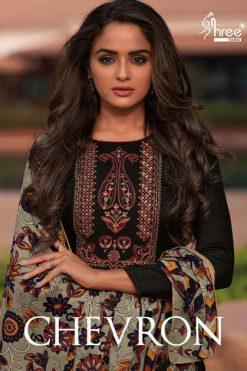 Shree Fabs Chevron Salwar Suit Wholesale Catalog 8 Pcs