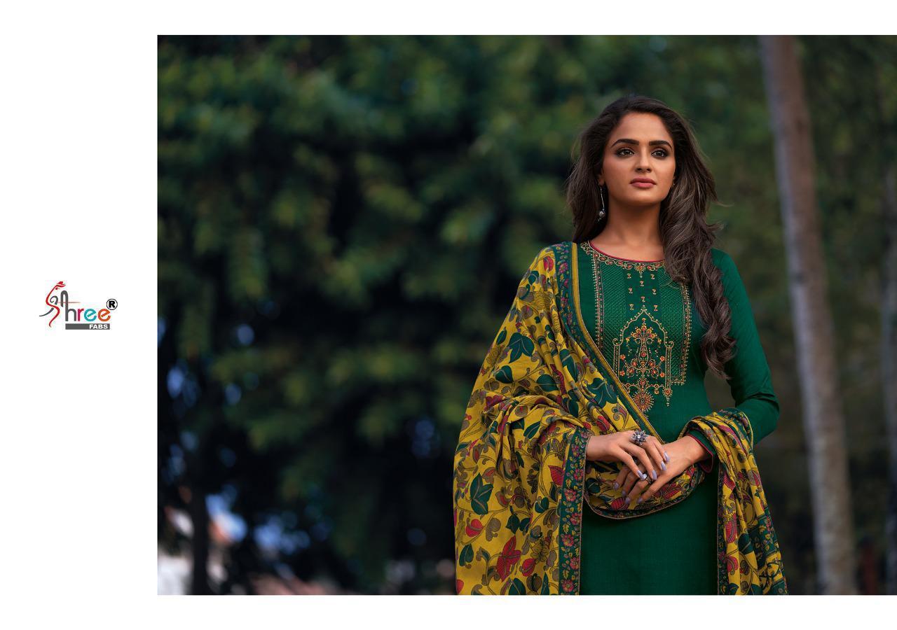 Shree Fabs Chevron Salwar Suit Wholesale Catalog 8 Pcs 6 - Shree Fabs Chevron Salwar Suit Wholesale Catalog 8 Pcs