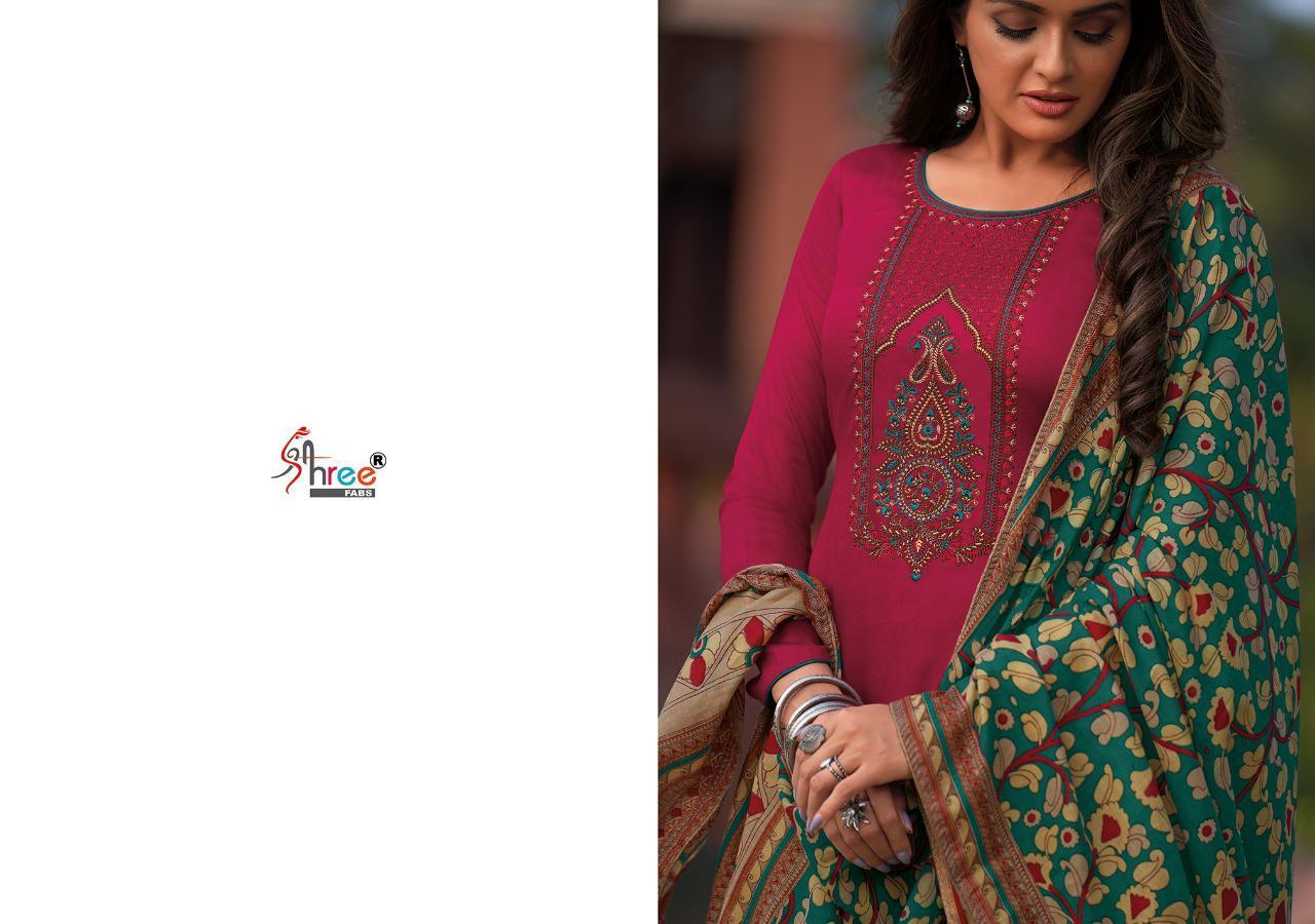Shree Fabs Chevron Salwar Suit Wholesale Catalog 8 Pcs 8 - Shree Fabs Chevron Salwar Suit Wholesale Catalog 8 Pcs