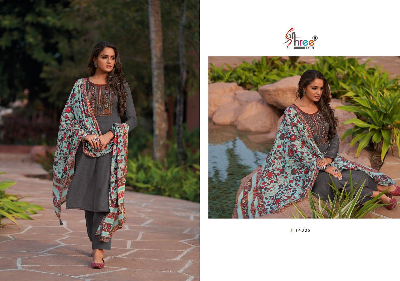 Shree Fabs Chevron Salwar Suit Wholesale Catalog 8 Pcs 9 - Shree Fabs Chevron Salwar Suit Wholesale Catalog 8 Pcs