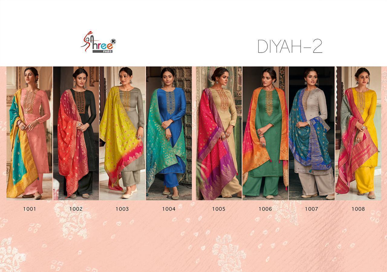 Shree Fabs Diyah Vol 2 Salwar Suit Wholesale Catalog 8 Pcs 13 - Shree Fabs Diyah Vol 2 Salwar Suit Wholesale Catalog 8 Pcs