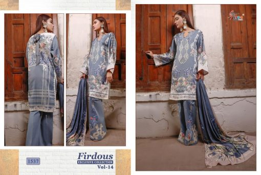 Shree Fabs Firdous Exclusive Collection Vol 14 Salwar Suit Wholesale Catalog 8 Pcs 12 510x342 - Shree Fabs Firdous Exclusive Collection Vol 14 Salwar Suit Wholesale Catalog 8 Pcs