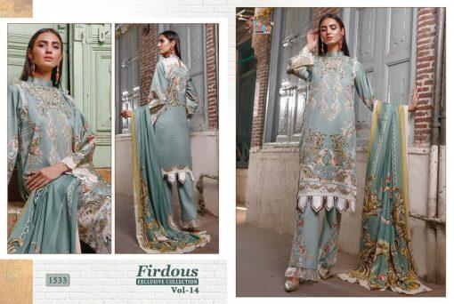 Shree Fabs Firdous Exclusive Collection Vol 14 Salwar Suit Wholesale Catalog 8 Pcs 8 510x342 - Shree Fabs Firdous Exclusive Collection Vol 14 Salwar Suit Wholesale Catalog 8 Pcs