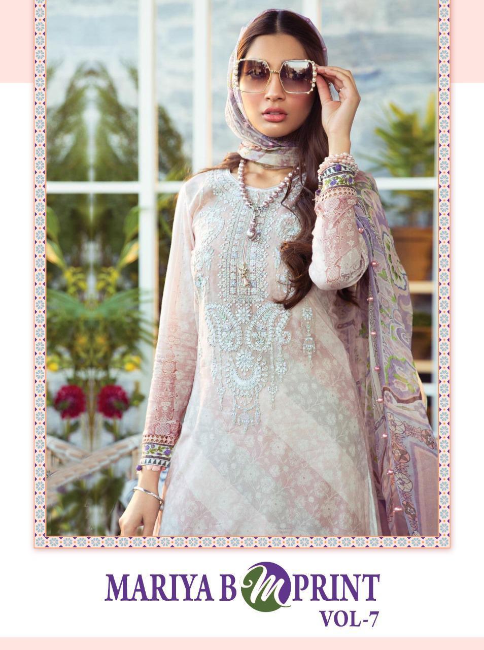 Shree Fabs Mariya B MPrint Vol 7 Salwar Suit Wholesale Catalog 8 Pcs 1 - Shree Fabs Mariya B MPrint Vol 7 Salwar Suit Wholesale Catalog 8 Pcs