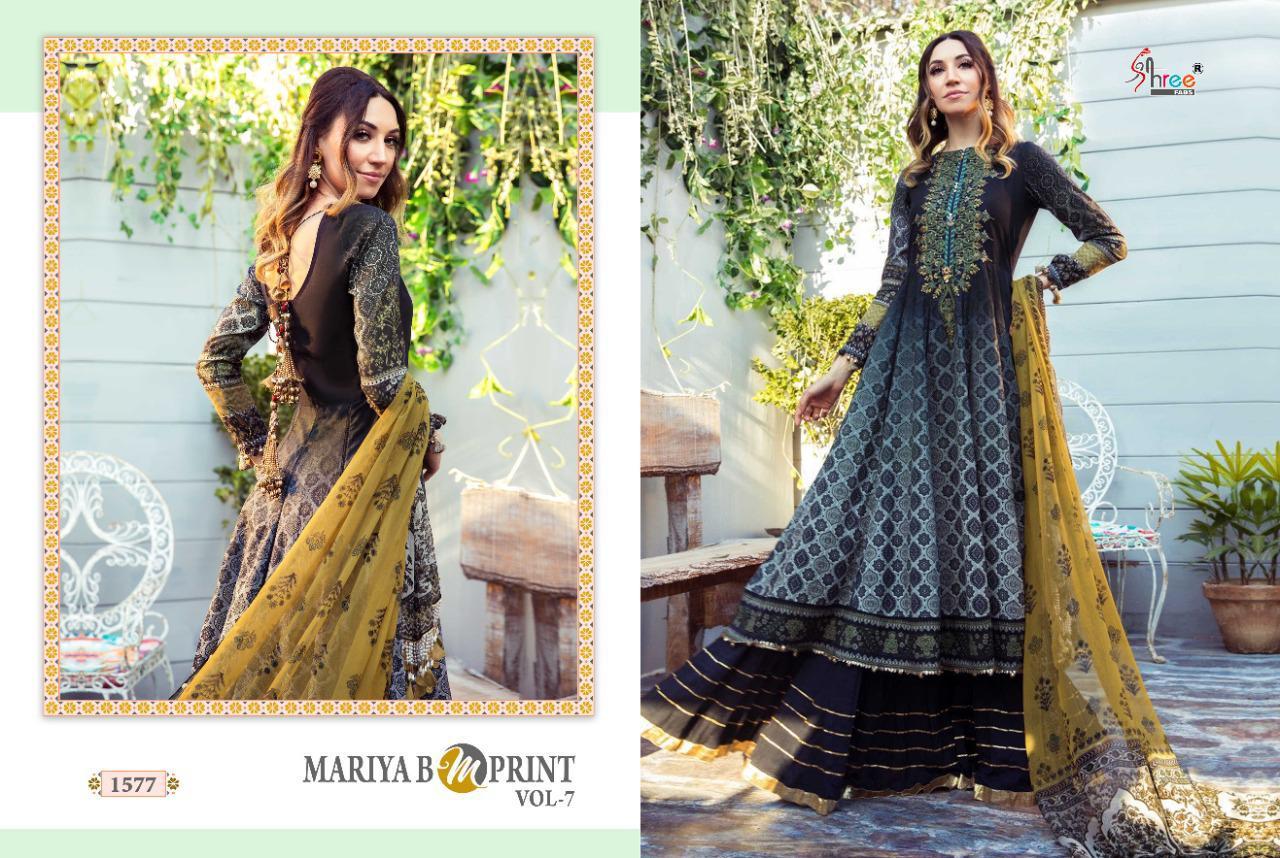 Shree Fabs Mariya B MPrint Vol 7 Salwar Suit Wholesale Catalog 8 Pcs 12 - Shree Fabs Mariya B MPrint Vol 7 Salwar Suit Wholesale Catalog 8 Pcs