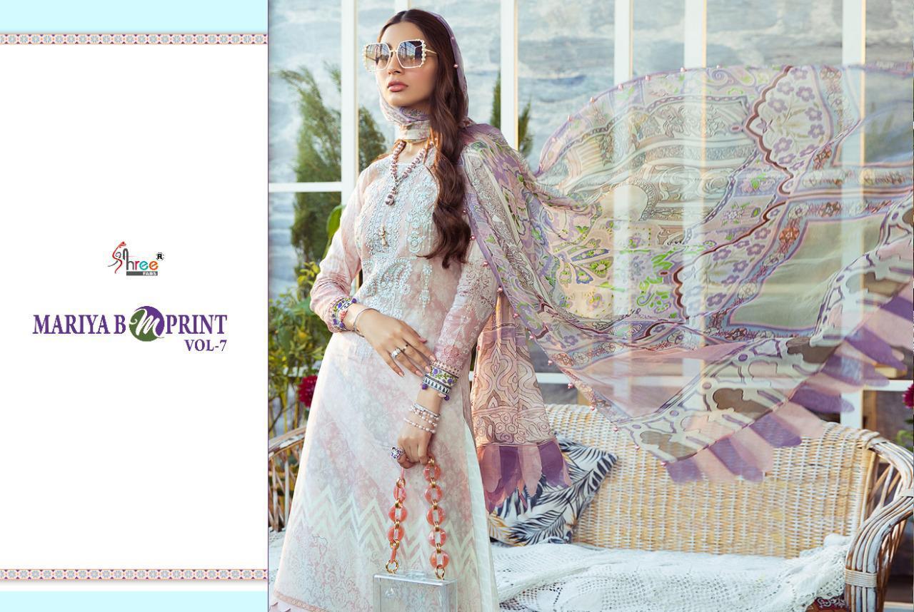 Shree Fabs Mariya B MPrint Vol 7 Salwar Suit Wholesale Catalog 8 Pcs 16 - Shree Fabs Mariya B MPrint Vol 7 Salwar Suit Wholesale Catalog 8 Pcs