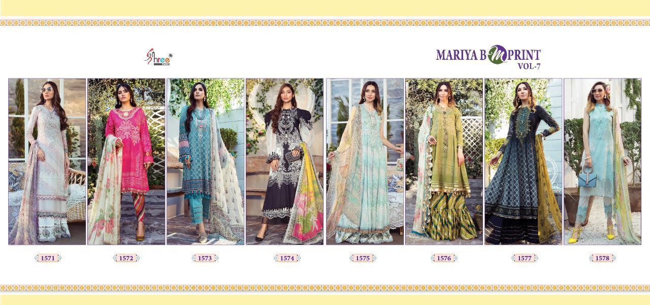 Shree Fabs Mariya B MPrint Vol 7 Salwar Suit Wholesale Catalog 8 Pcs 18 - Shree Fabs Mariya B MPrint Vol 7 Salwar Suit Wholesale Catalog 8 Pcs