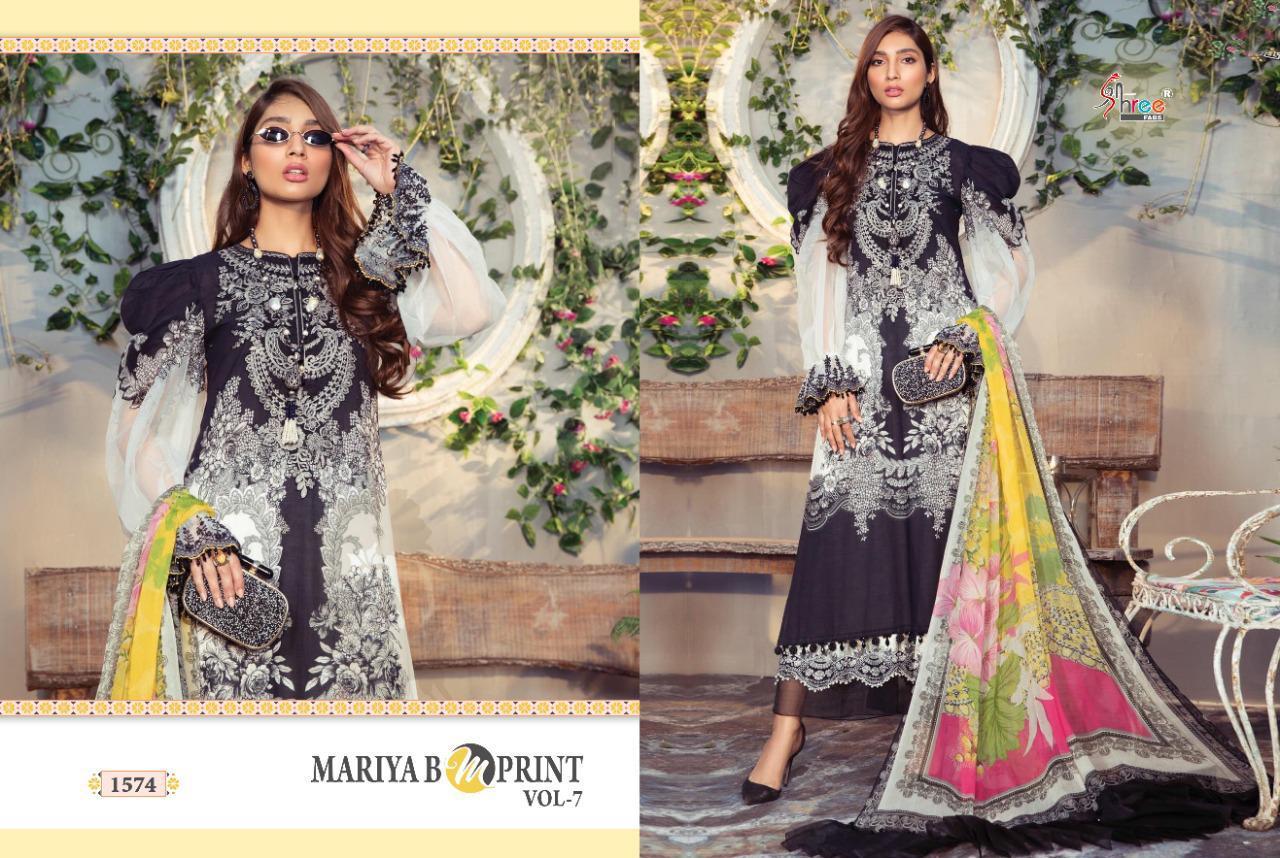 Shree Fabs Mariya B MPrint Vol 7 Salwar Suit Wholesale Catalog 8 Pcs 6 - Shree Fabs Mariya B MPrint Vol 7 Salwar Suit Wholesale Catalog 8 Pcs