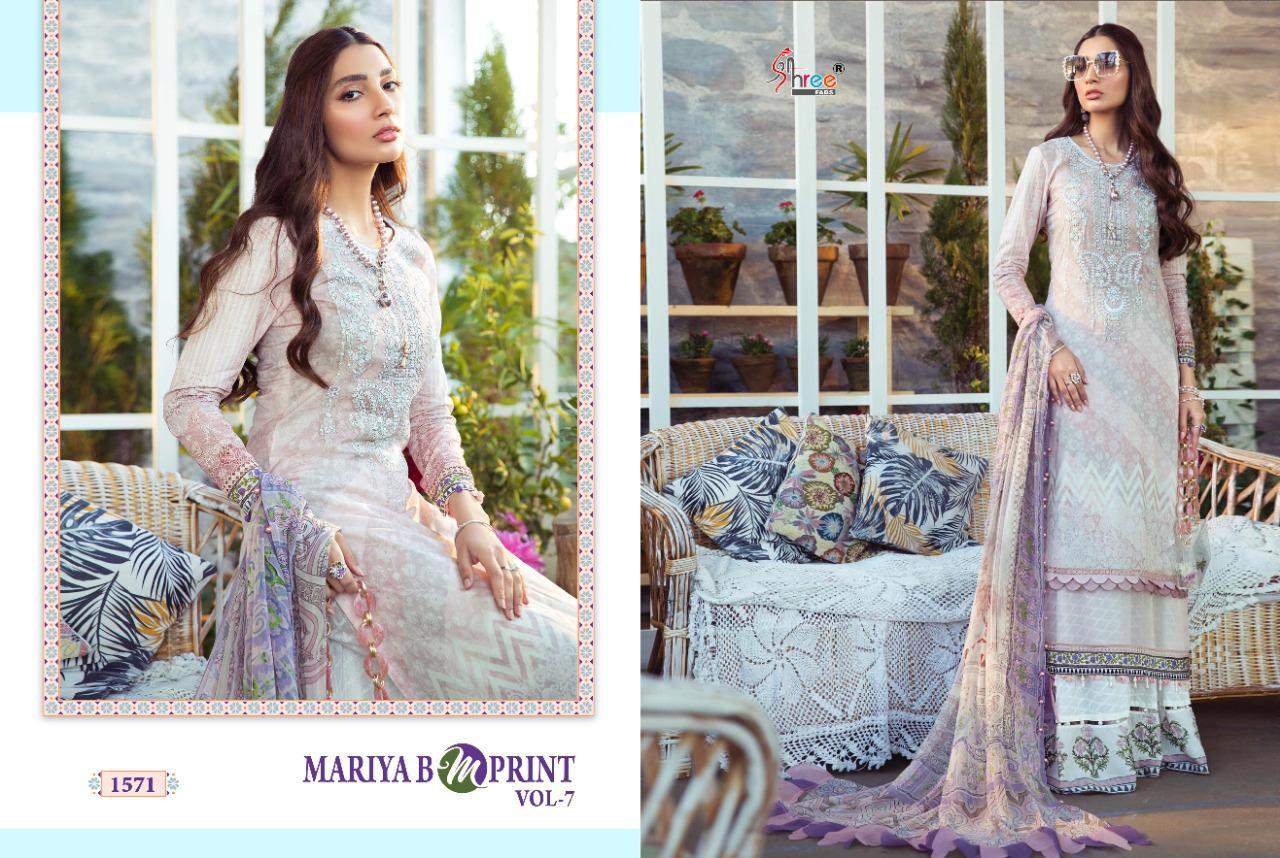 Shree Fabs Mariya B MPrint Vol 7 Salwar Suit Wholesale Catalog 8 Pcs 7 - Shree Fabs Mariya B MPrint Vol 7 Salwar Suit Wholesale Catalog 8 Pcs