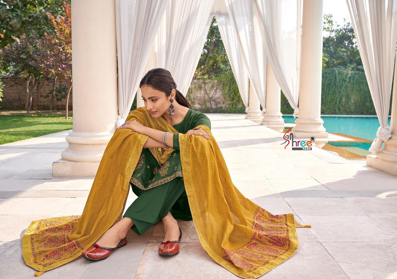 Shree Fabs Monark Salwar Suit Wholesale Catalog 8 Pcs 10 - Shree Fabs Monark Salwar Suit Wholesale Catalog 8 Pcs