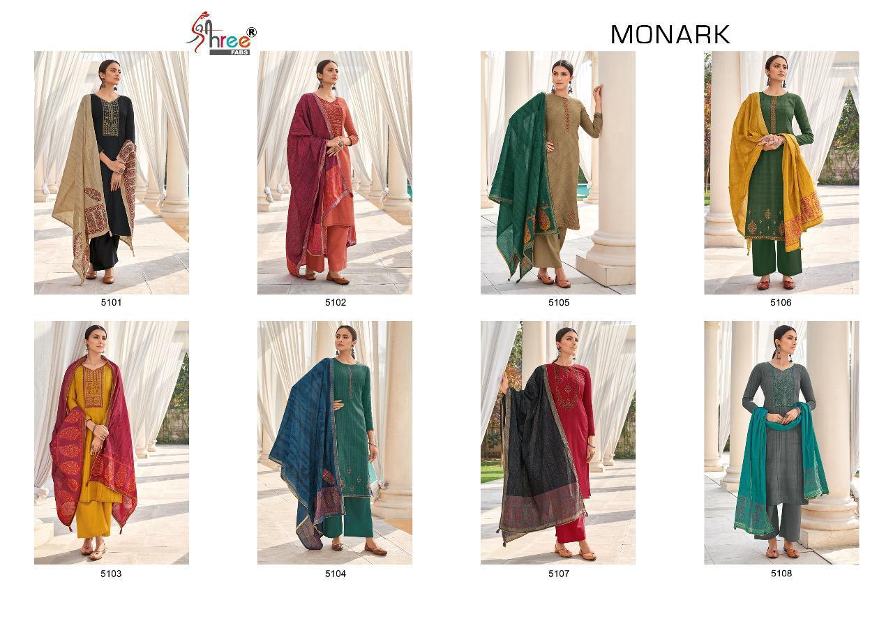 Shree Fabs Monark Salwar Suit Wholesale Catalog 8 Pcs 11 - Shree Fabs Monark Salwar Suit Wholesale Catalog 8 Pcs