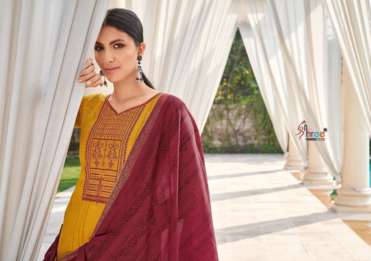 Shree Fabs Monark Salwar Suit Wholesale Catalog 8 Pcs 3 - Shree Fabs Monark Salwar Suit Wholesale Catalog 8 Pcs