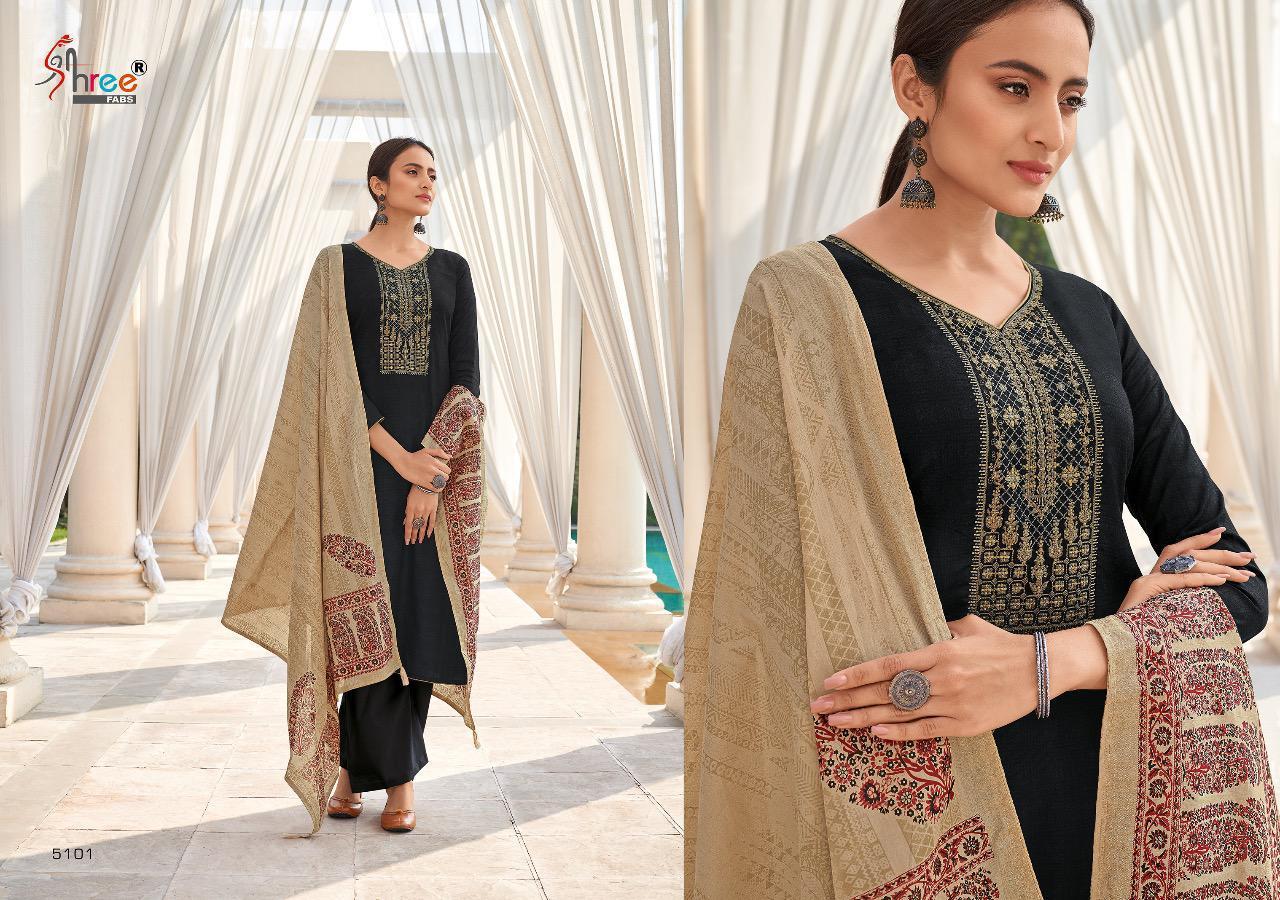 Shree Fabs Monark Salwar Suit Wholesale Catalog 8 Pcs 6 - Shree Fabs Monark Salwar Suit Wholesale Catalog 8 Pcs
