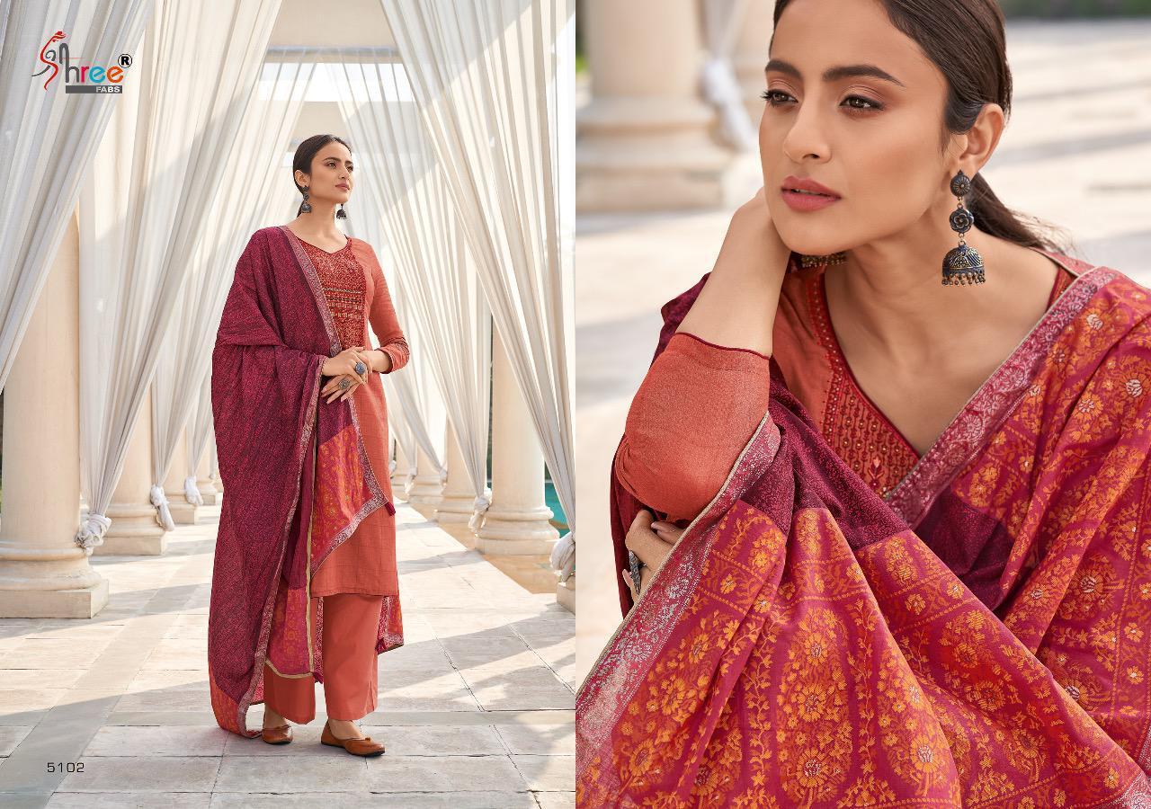 Shree Fabs Monark Salwar Suit Wholesale Catalog 8 Pcs 8 - Shree Fabs Monark Salwar Suit Wholesale Catalog 8 Pcs