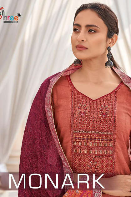 Shree Fabs Monark Salwar Suit Wholesale Catalog 8 Pcs