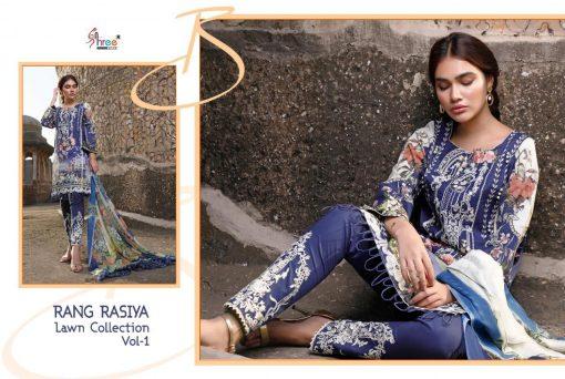 Shree Fabs Rang Rasiya Lawn Collection Vol 1 Salwar Suit Wholesale Catalog 7 Pcs 6 510x342 - Shree Fabs Rang Rasiya Lawn Collection Vol 1 Salwar Suit Wholesale Catalog 7 Pcs