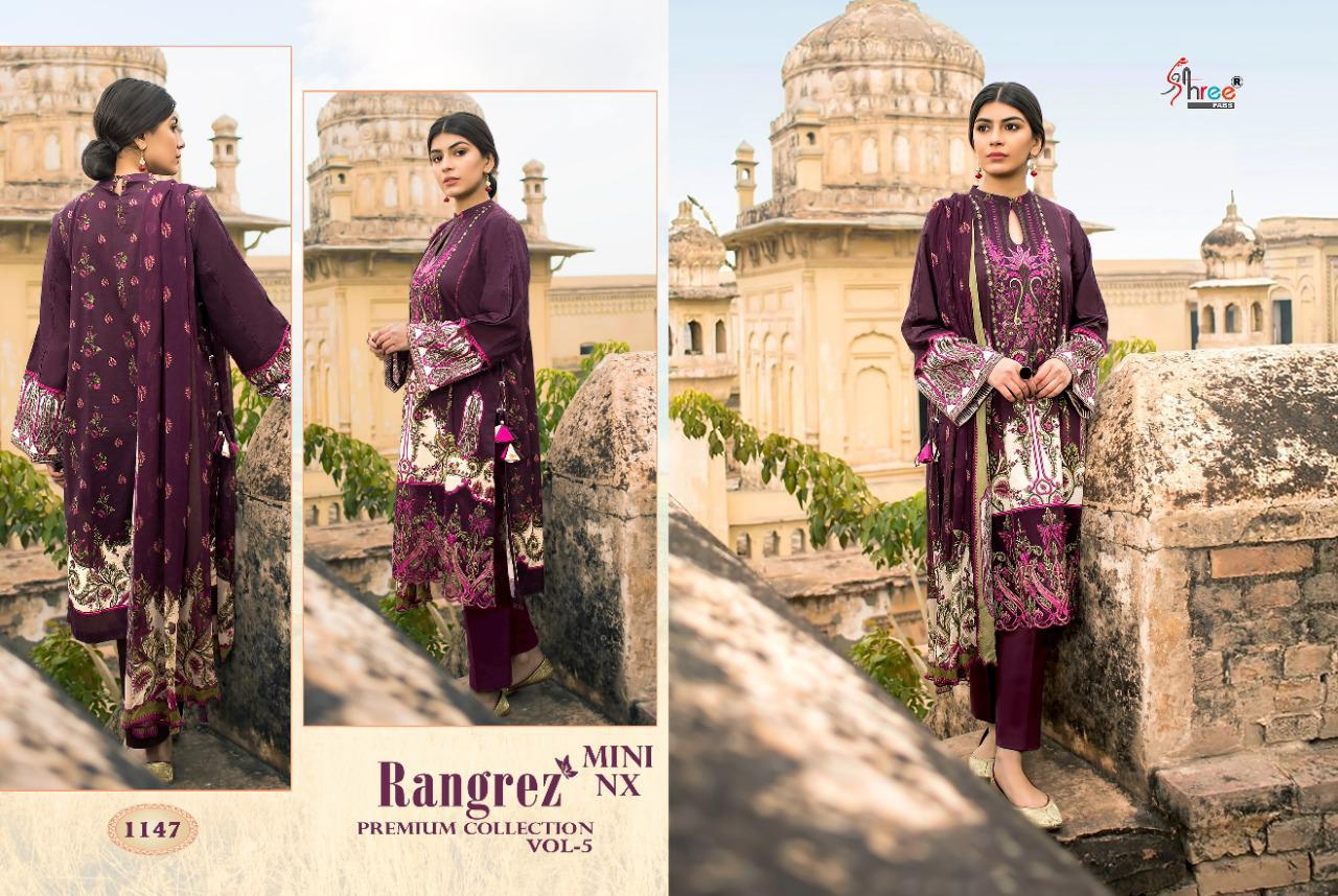 Shree Fabs Rangrez Premium Collection Vol 5 Mini NX Salwar Suit Wholesale Catalog 2 Pcs 2 - Shree Fabs Rangrez Premium Collection Vol 5 Mini NX Salwar Suit Wholesale Catalog 2 Pcs