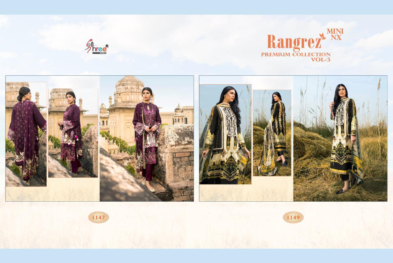 Shree Fabs Rangrez Premium Collection Vol 5 Mini NX Salwar Suit Wholesale Catalog 2 Pcs 3 - Shree Fabs Rangrez Premium Collection Vol 5 Mini NX Salwar Suit Wholesale Catalog 2 Pcs