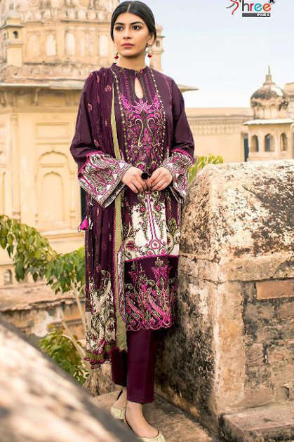 Shree Fabs Rangrez Premium Collection Vol 5 Mini NX Salwar Suit Wholesale Catalog 2 Pcs