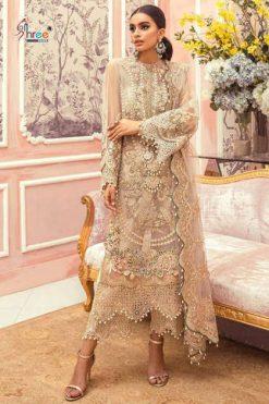 Shree Fabs Sana Safinaz Embroidered Collection Vol 3 Salwar Suit Wholesale Catalog 4 Pcs