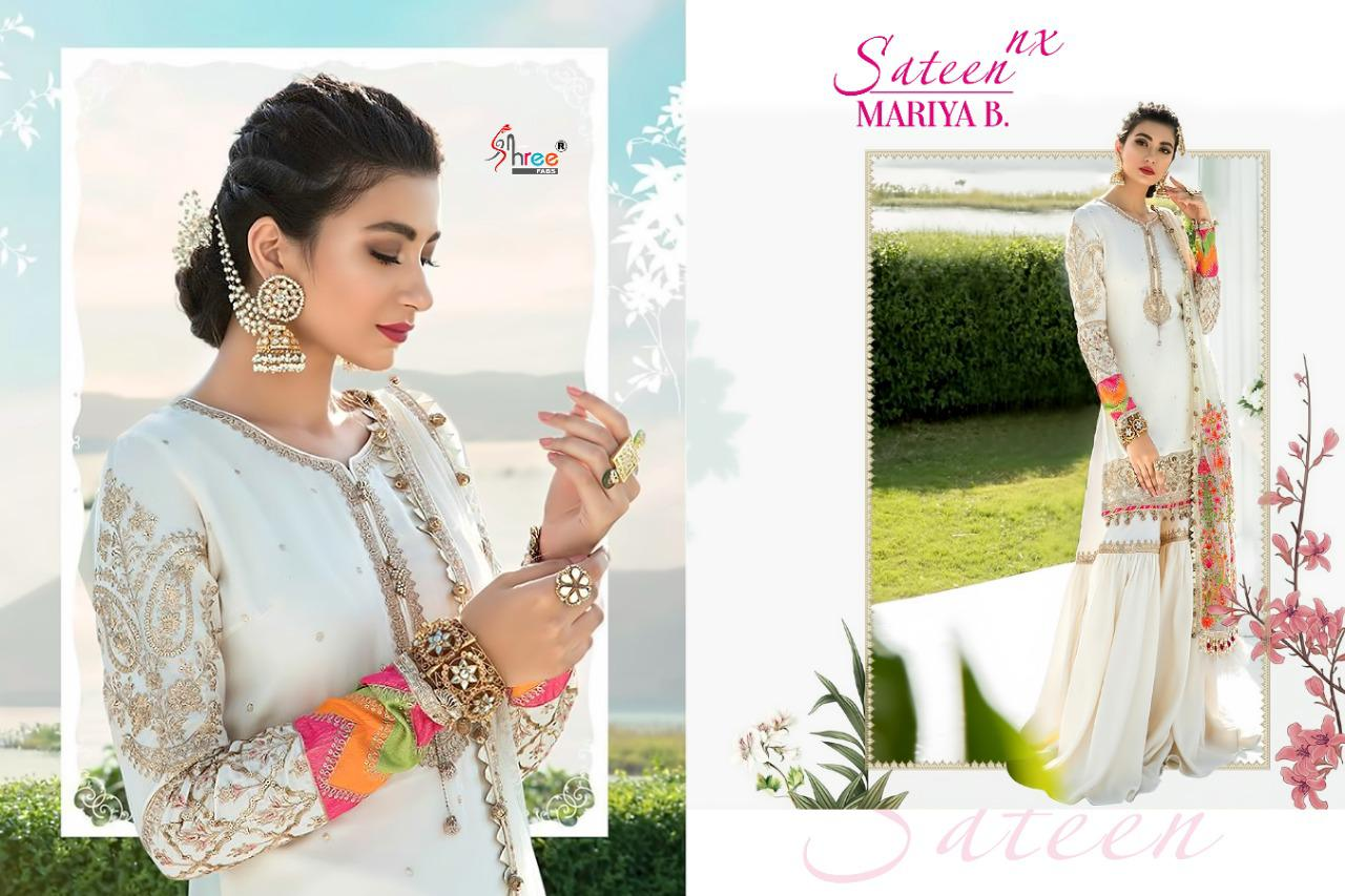 Shree Fabs Sateen Mariya B Nx Salwar Suit Wholesale Catalog 4 Pcs 5 - Shree Fabs Sateen Mariya B Nx Salwar Suit Wholesale Catalog 4 Pcs