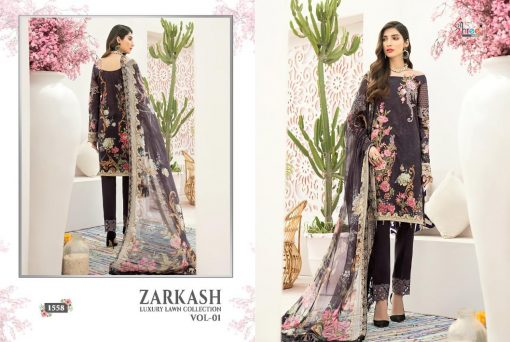 Shree Fabs Zarkash Luxury Lawn Collection Vol 1 Salwar Suit Wholesale Catalog 8 Pcs 9 510x342 - Shree Fabs Zarkash Luxury Lawn Collection Vol 1 Salwar Suit Wholesale Catalog 8 Pcs