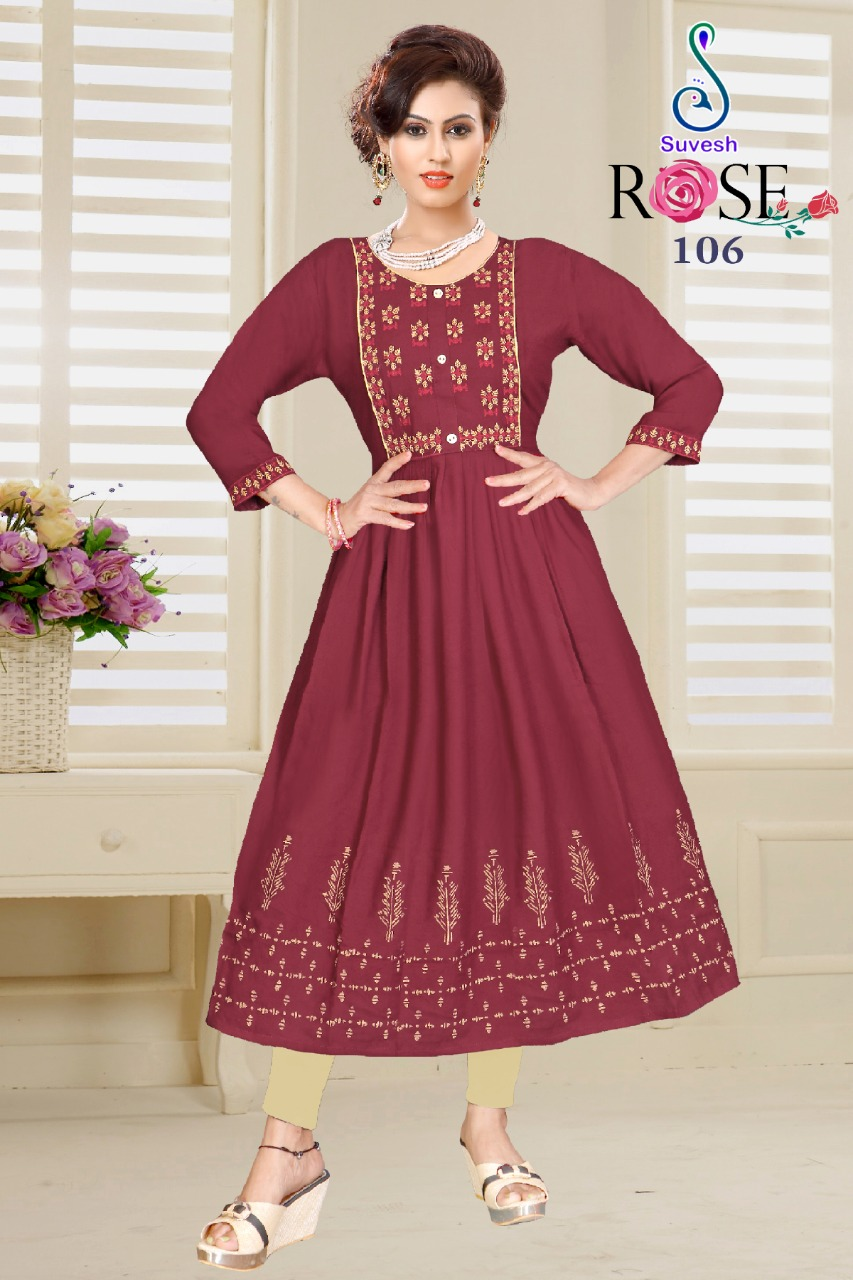 Suvesh Rose Vol 3 Kurti Wholesale Catalog 8 Pcs 3 - Suvesh Rose Vol 3 Kurti Wholesale Catalog 8 Pcs