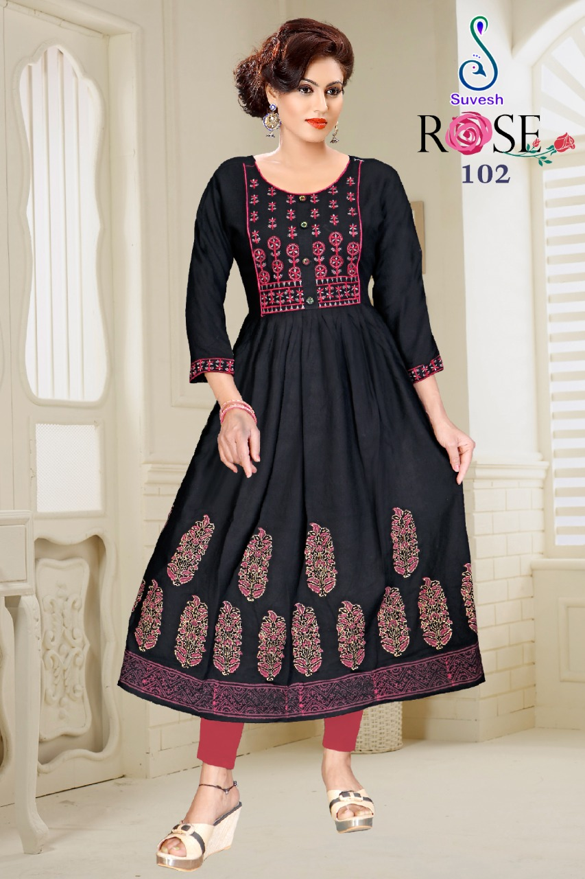 Suvesh Rose Vol 3 Kurti Wholesale Catalog 8 Pcs 9 - Suvesh Rose Vol 3 Kurti Wholesale Catalog 8 Pcs
