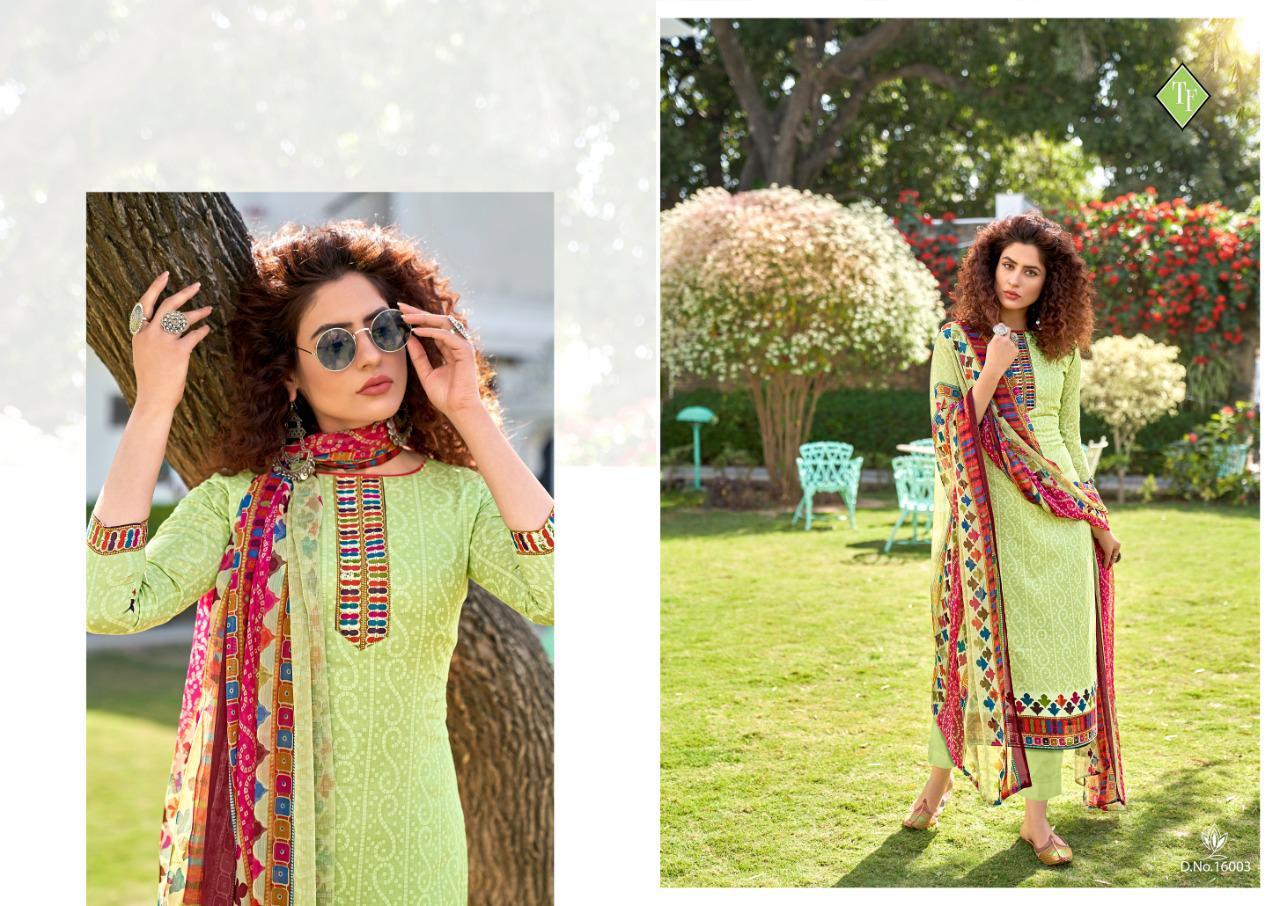 Tanishk Bandhani Salwar Suit Wholesale Catalog 8 Pcs 10 - Tanishk Bandhani Salwar Suit Wholesale Catalog 8 Pcs