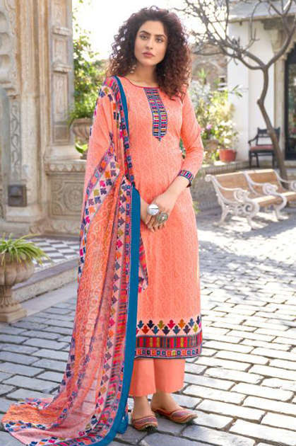 Tanishk Bandhani Salwar Suit Wholesale Catalog 8 Pcs