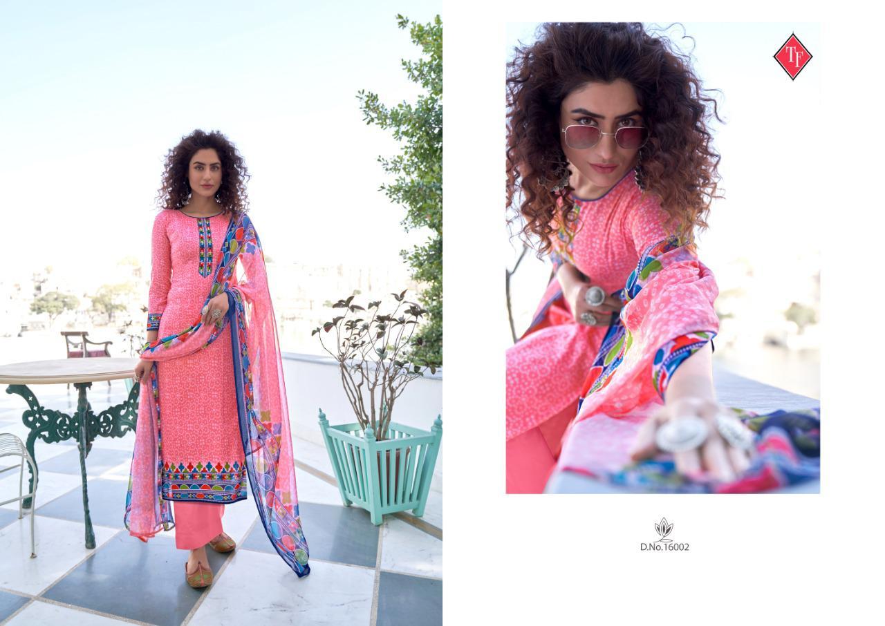 Tanishk Bandhani Salwar Suit Wholesale Catalog 8 Pcs 2 - Tanishk Bandhani Salwar Suit Wholesale Catalog 8 Pcs