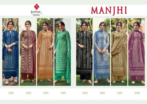 Tanishk Manjhi Salwar Suit Wholesale Catalog 8 Pcs 10 510x361 - Tanishk Manjhi Salwar Suit Wholesale Catalog 8 Pcs