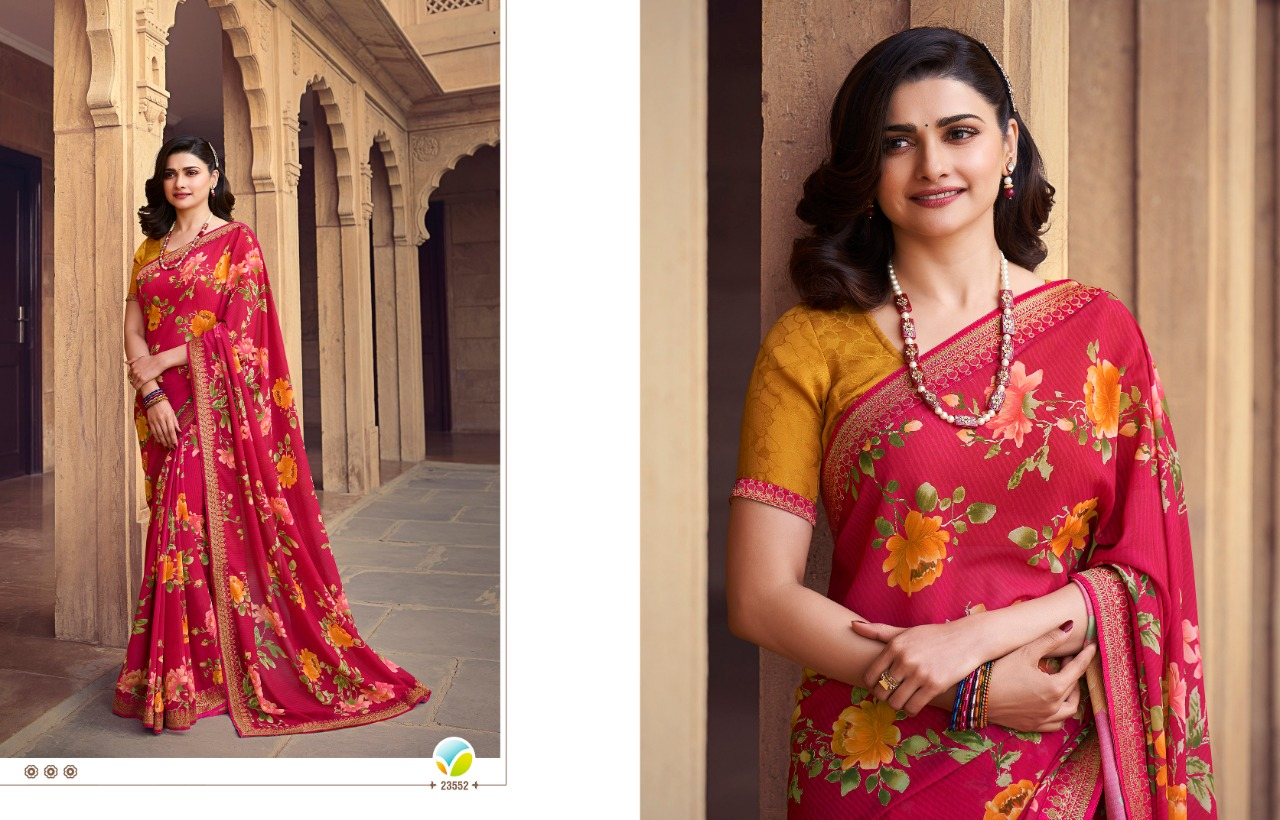Vinay Sheesha Starwalk Vol 63 Digital Saree Sari Wholesale Catalog 9 Pcs 2 - Vinay Sheesha Starwalk Vol 63 Digital Saree Sari Wholesale Catalog 9 Pcs