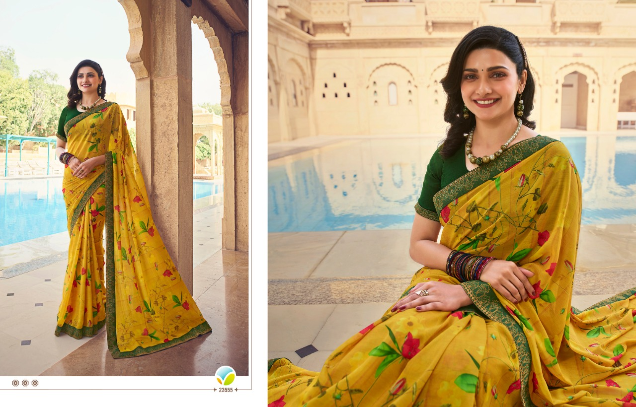 Vinay Sheesha Starwalk Vol 63 Digital Saree Sari Wholesale Catalog 9 Pcs 9 - Vinay Sheesha Starwalk Vol 63 Digital Saree Sari Wholesale Catalog 9 Pcs
