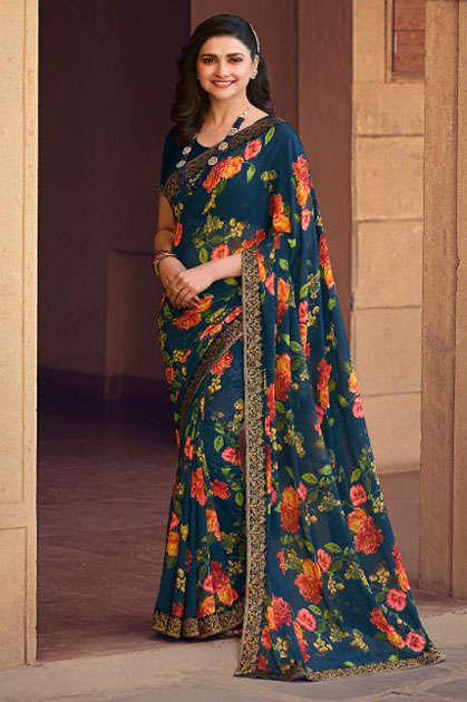 Vinay Sheesha Starwalk Vol 63 Digital Saree Sari Wholesale Catalog 9 Pcs