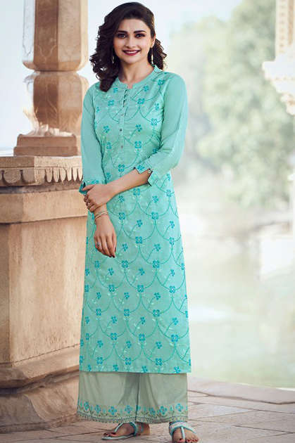 Vinay Tumbaa Wink Vol 2 Kurti with Palazzo Wholesale Catalog 8 Pcs