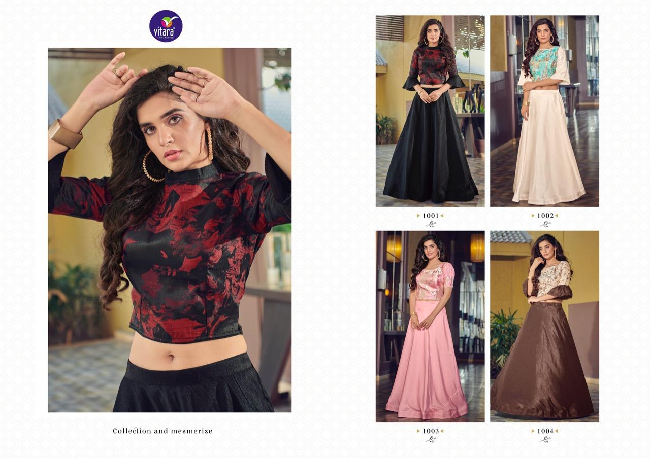Vitara Magic Vol 9 Top with Skirt Wholesale Catalog 4 Pcs 3 - Vitara Magic Vol 9 Top with Skirt Wholesale Catalog 4 Pcs