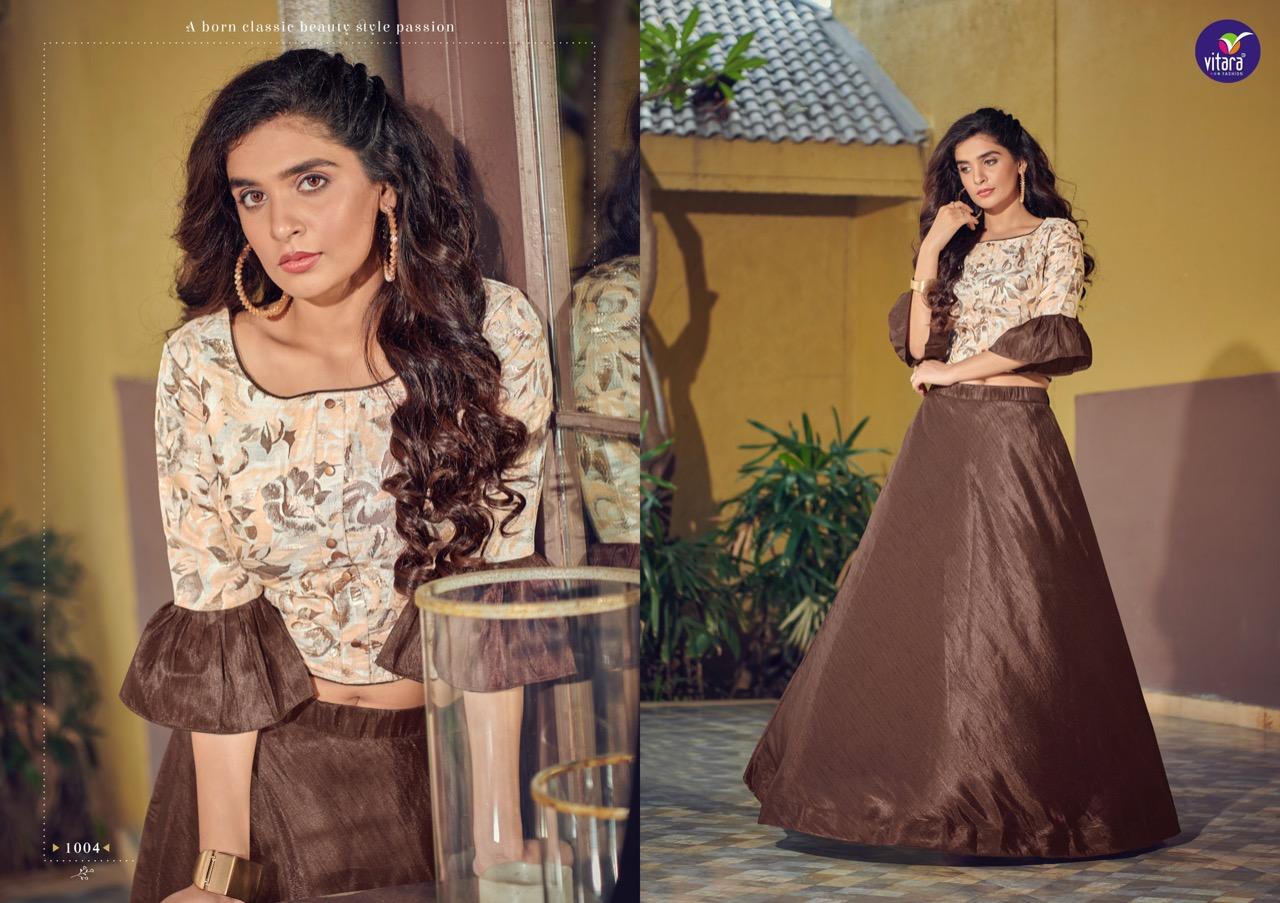 Vitara Magic Vol 9 Top with Skirt Wholesale Catalog 4 Pcs 4 - Vitara Magic Vol 9 Top with Skirt Wholesale Catalog 4 Pcs