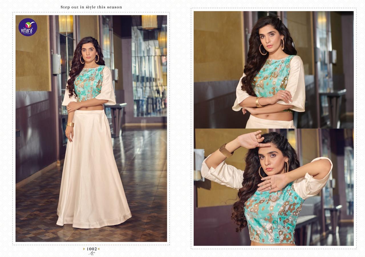 Vitara Magic Vol 9 Top with Skirt Wholesale Catalog 4 Pcs 5 - Vitara Magic Vol 9 Top with Skirt Wholesale Catalog 4 Pcs