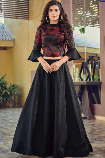 Vitara Magic Vol 9 Top with Skirt Wholesale Catalog 4 Pcs
