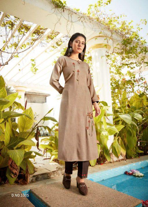 Vitara See More Kurti with Pant Wholesale Catalog 8 Pcs 12 510x714 - Vitara See More Kurti with Pant Wholesale Catalog 8 Pcs