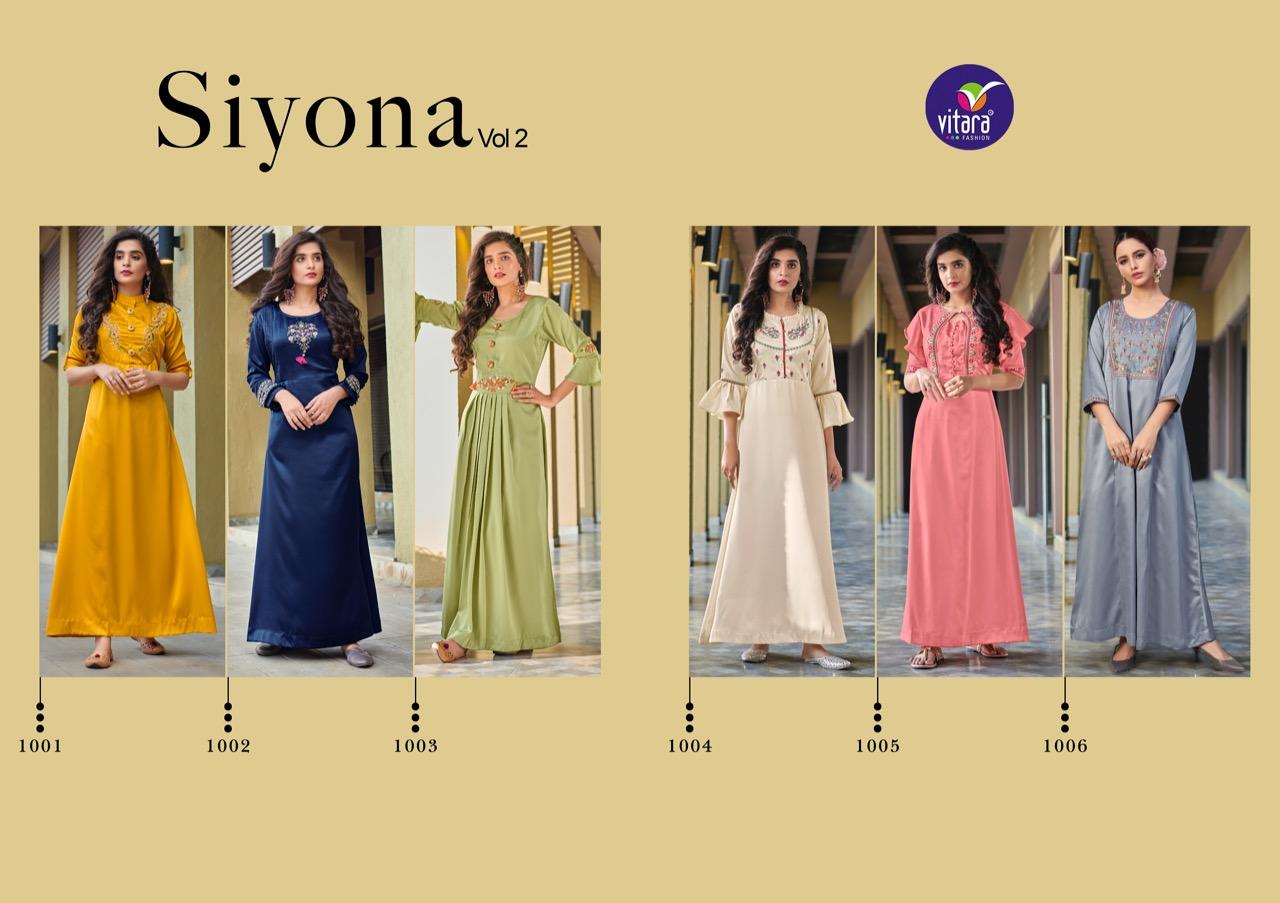 Vitara Siyona Vol 2 Kurti Wholesale Catalog 6 Pcs 5 - Vitara Siyona Vol 2 Kurti Wholesale Catalog 6 Pcs